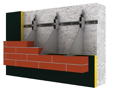cast-in channels for Brickwork